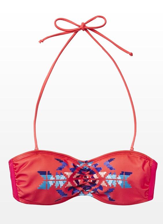 6. Aztec Bandeau Bikini Top  - Garage  #PassportToFashion  @Mapleview Centre