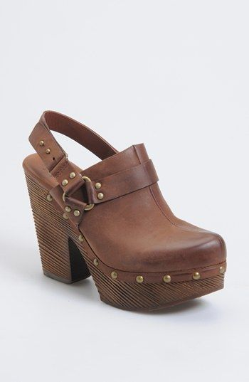 I would really loooooove to have these beauties. Kork-Ease™ 'Carmella' Clog | Nordstrom