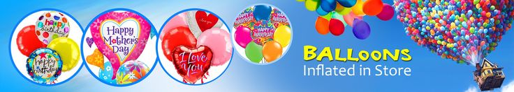 Your party supplies shop at Partyhead for all your Helium Balloons and Party Products.