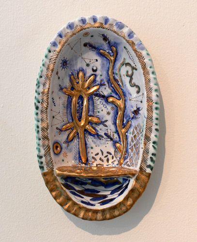 LizQuackenbush: Rita Mcfarlane, Design Explain, Contemporary Ceramics, Beautiful Pottery, Potter Clay, Liz Quackenbush, Clay Stuff, Ceramics Inspiration, Servings Vessel