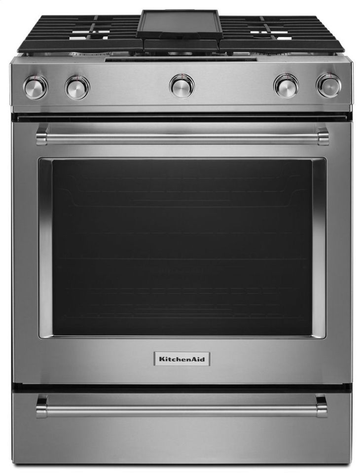 kitchenaid 5-burner gas cooktop with downdraft exhaust