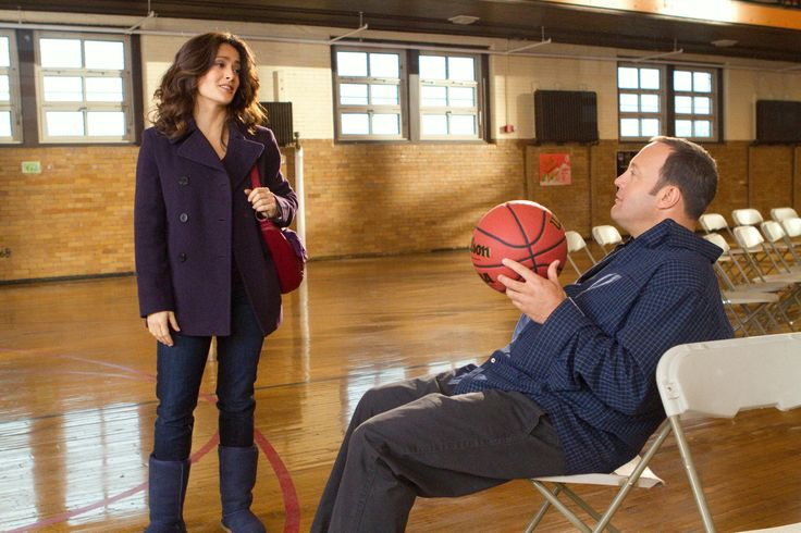 """Here Comes the Boom"" movie still, 2012.  L to R: Salma Hayek, Kevin James."