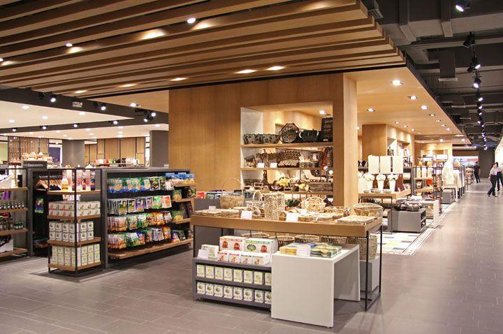 Национальные мотивы в дизайне супермаркета Wellworth, Манила, Филиппины
