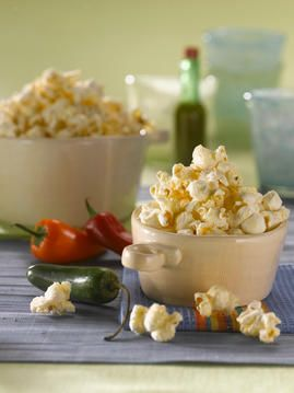 Cheesy Jalapeno Popper Popcorn/after the cheddar popcorn we bought, this is a must try
