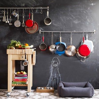Interiors Kitchen Ideas Chalkboard Kitchen Chalkboard Chalkboard Paint