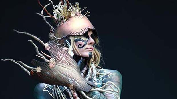 Amazing Body painting by Jeanne-Mare