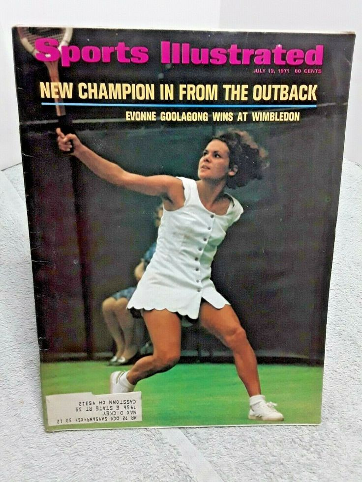 Sports Illustrated July 12 1971 Evonne Goolagong Wins at