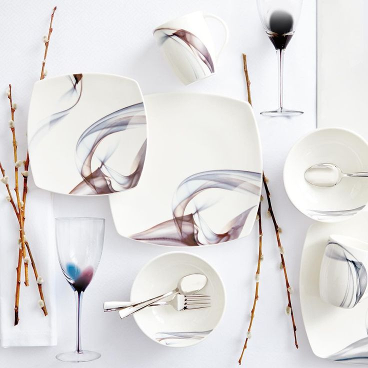 Where there's smoke, there's...beautiful Mikasa dinnerware. We can help you find yours. #WeSpeakRegistry #BedBathAndBeyond