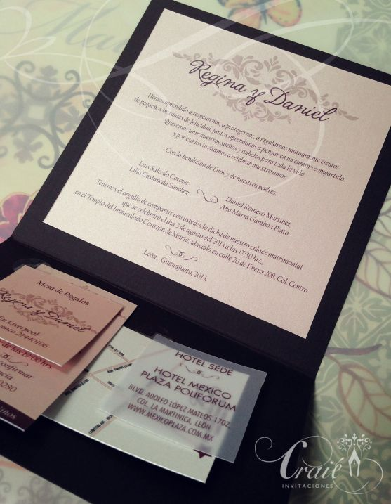 Craié Invitaciones - Boda - Bautizo - Eventos - XV años | León, Gto