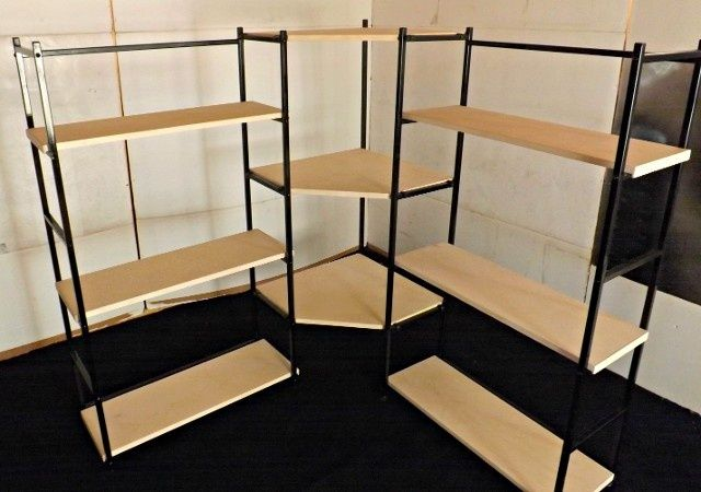 Craft Show Display Shelves | portable display shelves for arts and craft fairs and shows - Wow, this would be my ultimate craft show dream set-up