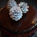 Fröhliche Weihnacht überall – Schokoladen-Marzipan-Torte