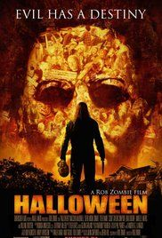 Halloween-(2007)--A Rob Zombie re-make with Malcolm McDowell, Brad Dourif, Daeg Faerch, Tyler Mane, and Sheri Moon Zombie.  Good re-make.