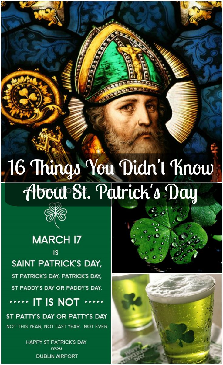 Think you're a Irish aficionado? Here are 16 facts about the famous St. Patrick that you definitely didn't know. | 16 Facts About St. Patrick's Day To Impress Your Friends