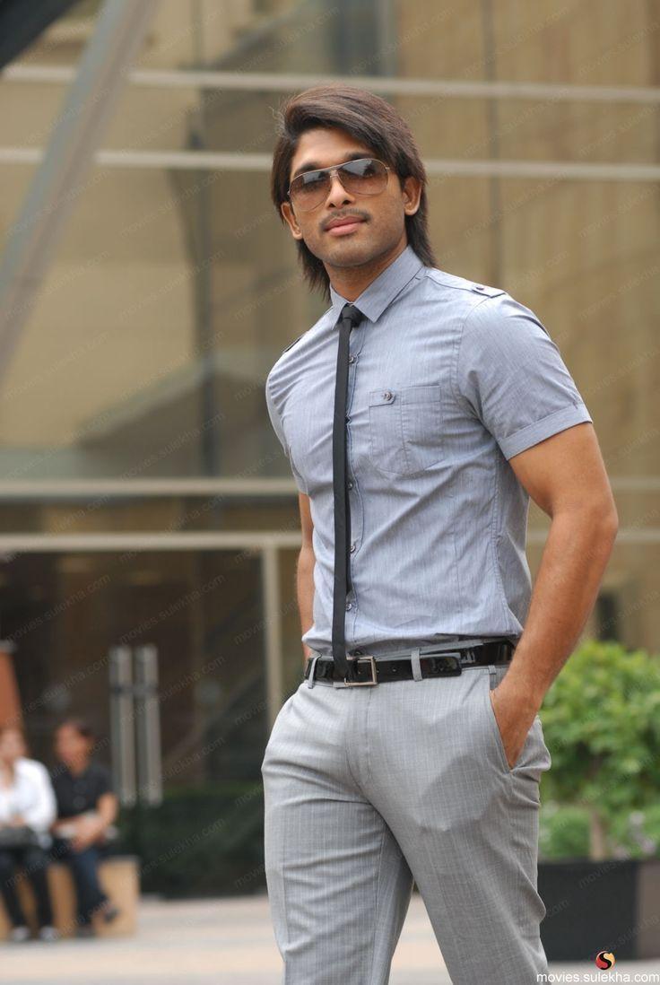 Allu Arjun South Indian Stylish Actor Fashion