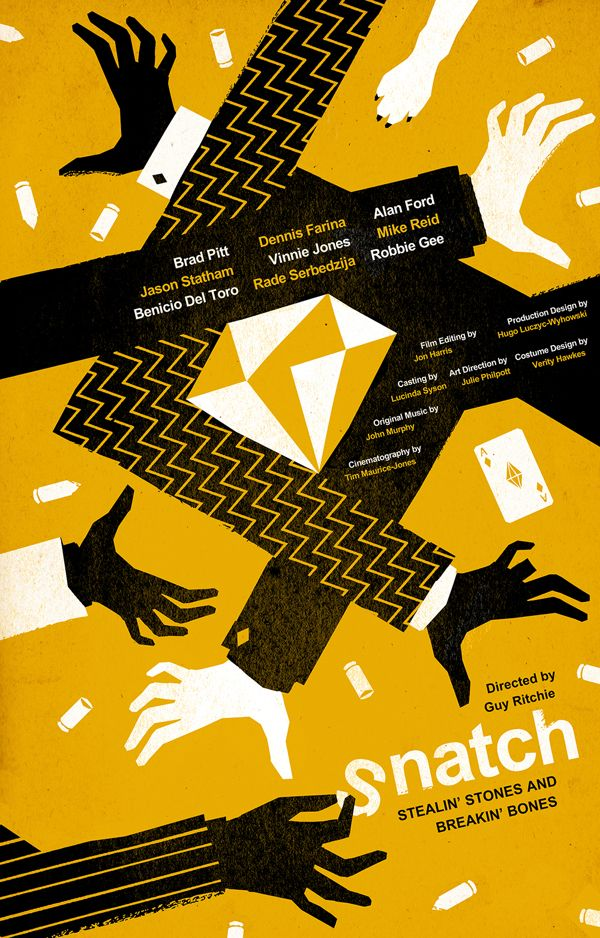 Snatch Movie Poster on Behance