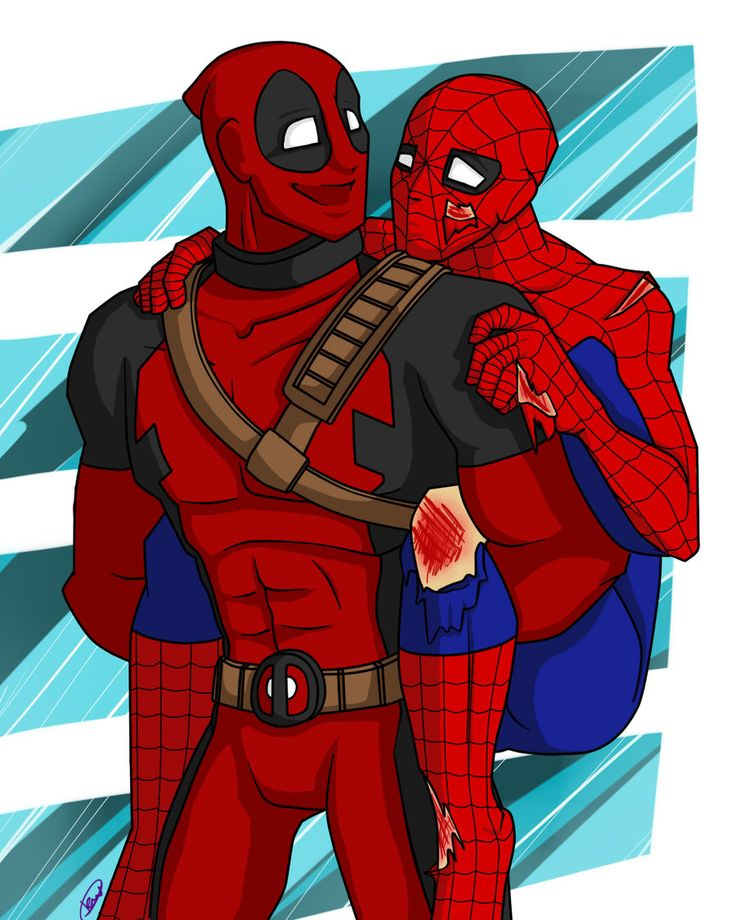 Deadpool And Spider Man 1: 112 Best Images About Deadpool & Friends On Pinterest