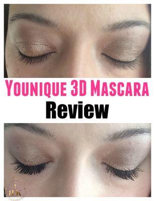 Younique 3D Mascara Review