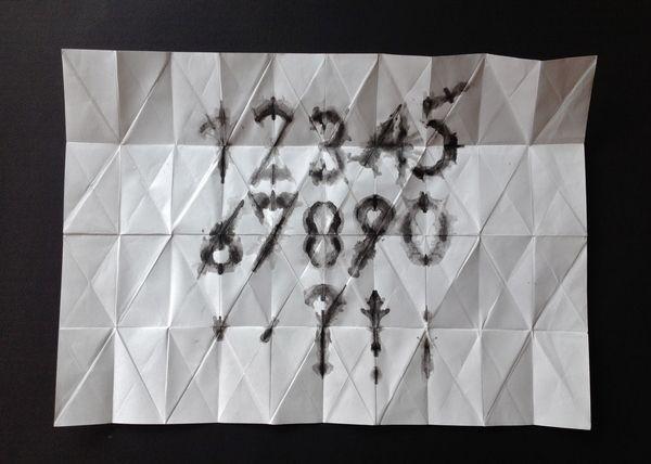 Simetra - Experimental Typeface by Lisa Nemetz, via Behance