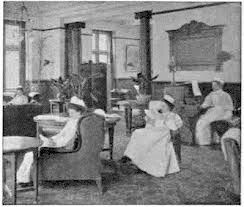 The Sitting Room, Luckes Nurses Home, Whitechapel, London.