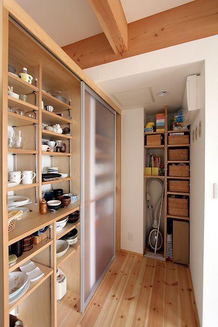 Utiliza madera para organizar tu casa