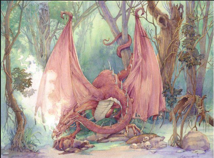 Сказочные иллюстрации Gary A. Lippincott.