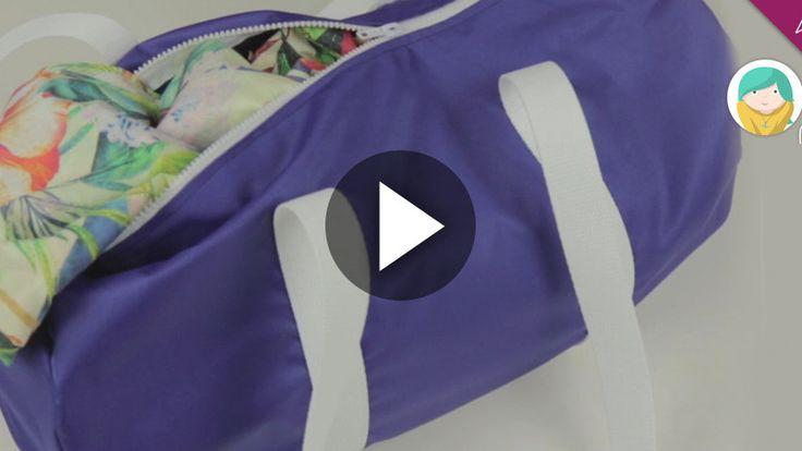 DIY como hacer una bolsa para el gimnasio