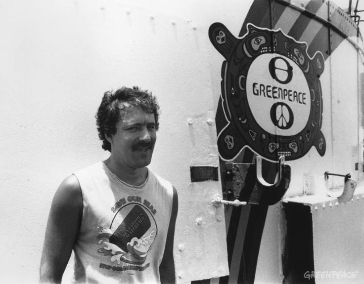 RIP. Fernando Pereira, freelance photographer for Greenpeace killed in the bombing of the Rainbow Warrior in 1985.