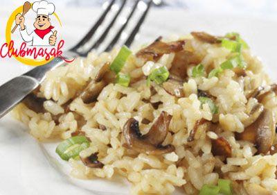Resep Hidangan Nasi Italia Jamur, Masakan Sehat Untuk Diet, Club Masak
