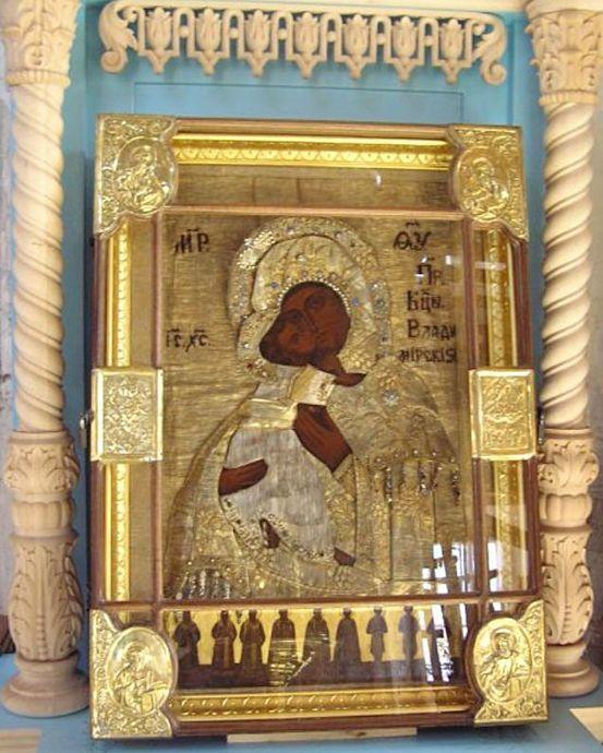 икона Божьей матери «ВЛАДИМИРСКАЯ (ОРАНСКАЯ)»