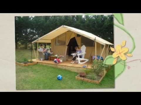 Glamping France - Tente Cotton Lodge Nature dans les Campings Sites et Paysages    Glamping Insolite