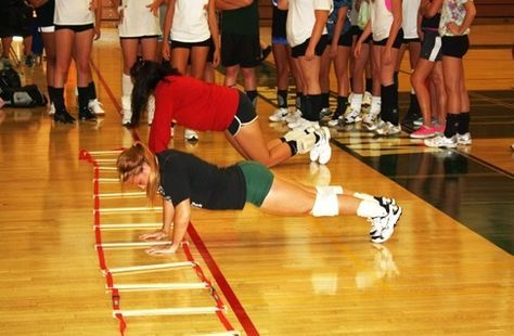 Shoulder exercises for volleyball weight training. Training the shoulder muscles can help prevent injury and improve hitting power. Shoulder is vulnerable to injuries because