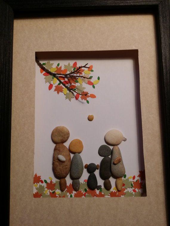 Familia+arte+con+perro+familia+de+cuatro+la+por+madebynatureandme