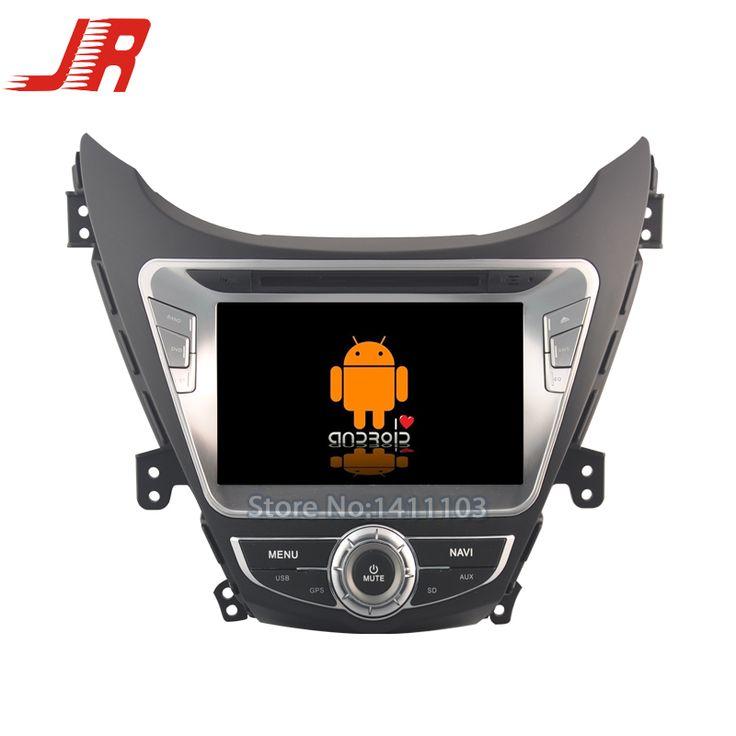 Quad Core Android 5.1.1 car audio FOR HYUNDAI ELANTRA 2012 car dvd  player car multimedia car stereo head unit 1024*600