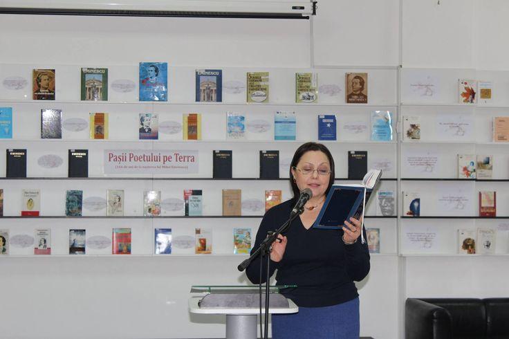 """Maria Șleahtițchi, critic literar, scriitor, profesor universitar - poemul """"Renunțare"""", de Mihai Eminescu"""