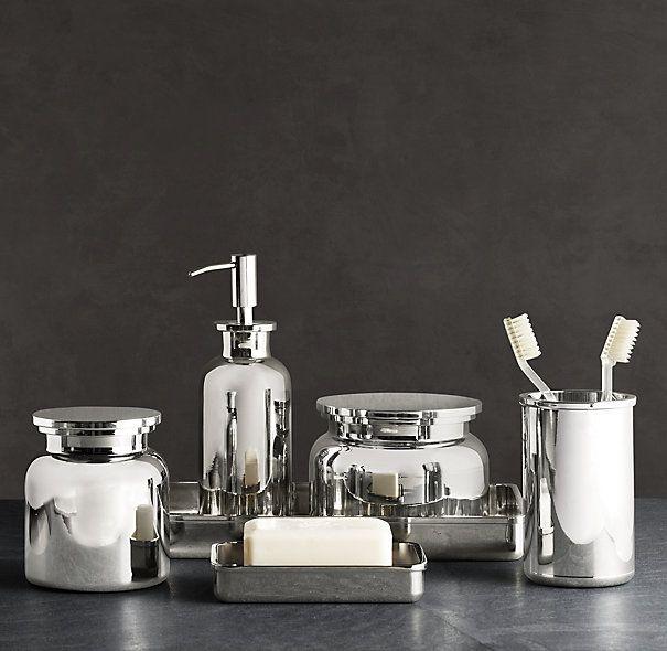 Bathroom Accessories Restoration Hardware 16 best bathroom accessories images on pinterest | bathroom ideas