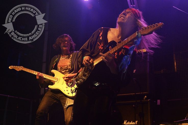 ULI JON ROTH y PRAYING MANTIS, 11 de Junio de 2016. Madrid (Sala Changó)... Dos…