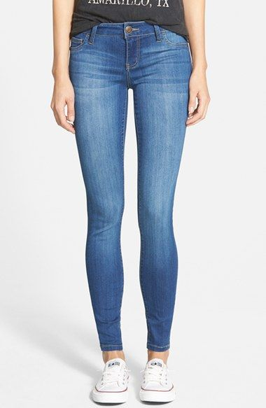 CELEBRITY PINK Skinny Jeans (Another Day) available at #Nordstrom