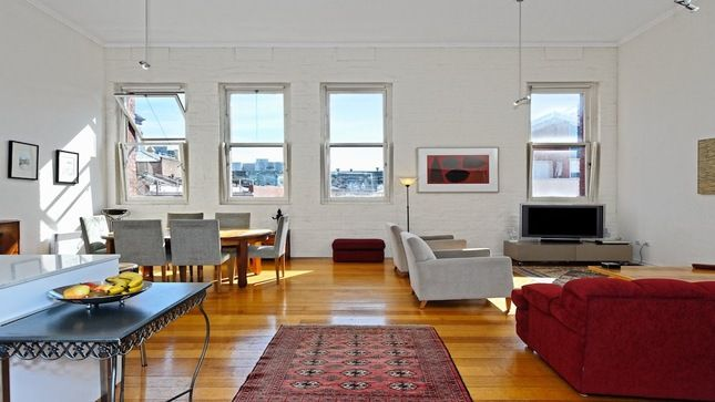 Inner city warehouse apartment, a Collingwood Apartment | Stayz