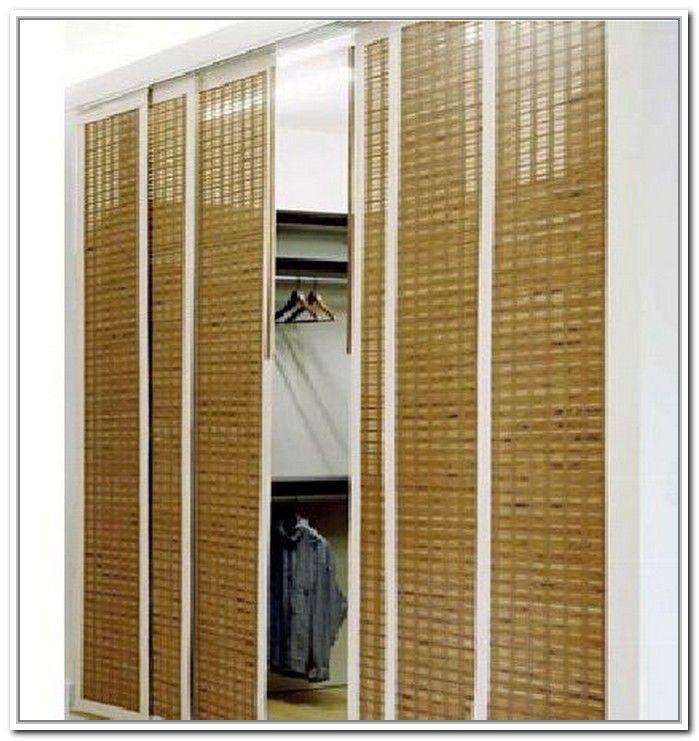 Best 25 closet door alternative ideas on pinterest - Small closet door solutions ...