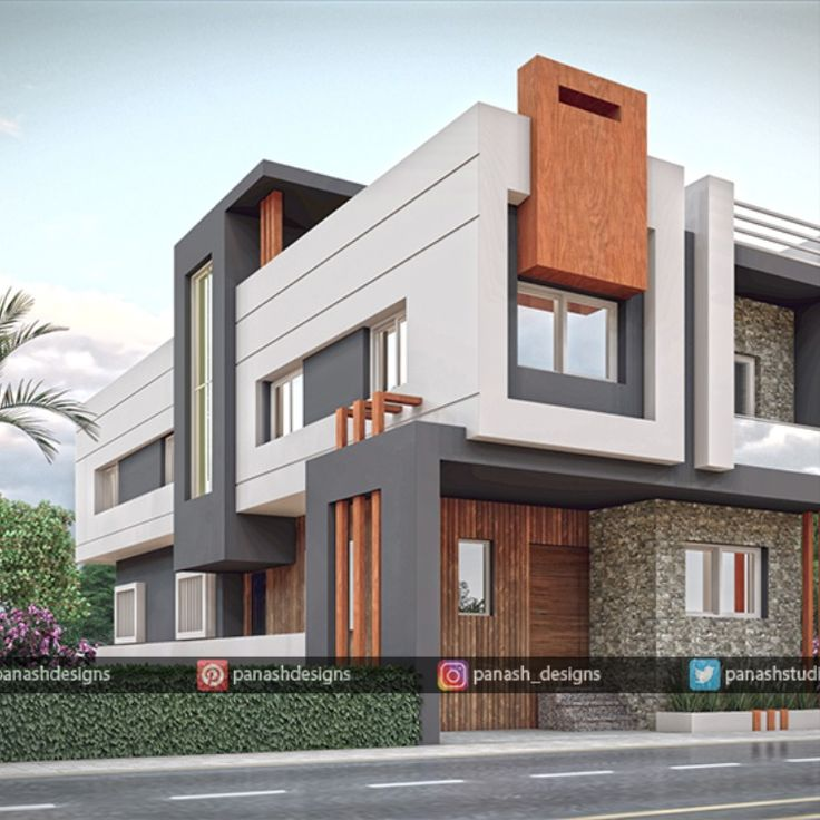 Homemodern House Design: BUNGALOW ELEVATION DONE BY PANASH DESIGN STUDIO... 3D