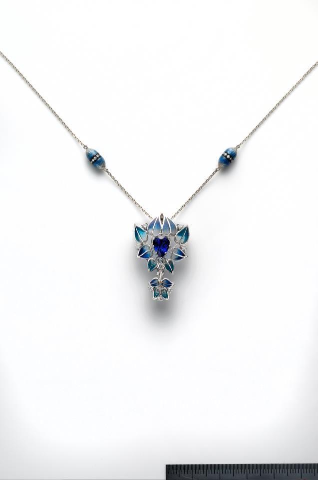 Kunio Nakajima. Japanese jewelry.