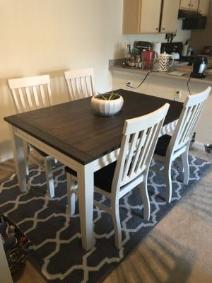 Stratford Caylie Farmhouse Dining Set Big Lots In 2020 Rustic Kitchen Tables Farmhouse Dining Room Table Refinishing Kitchen Tables