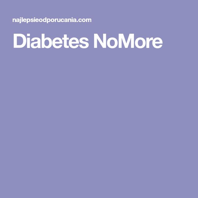 Diabetes NoMore