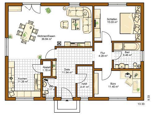 Sims 3 moderne häuser grundrisse  98 besten Bungalows Bilder auf Pinterest | Grundriss bungalow ...
