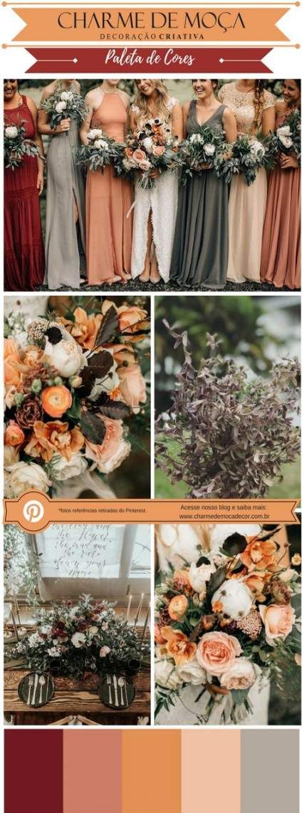 40+ Ideas Wedding Colors Peach Orange