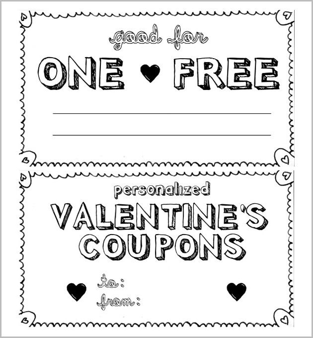 Homemade Coupon Design World Of Example Coupon Book Coupon Template Valentines Coupon Book