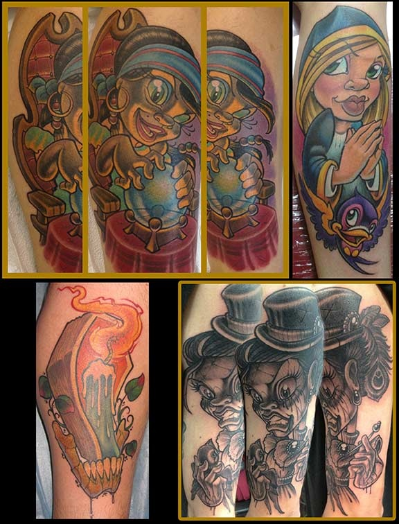 113 best jime litwalk tattoos images on pinterest tattoo for Tattoo shops in orlando fl
