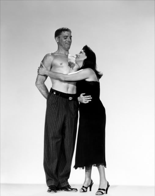 Publicity still for The Rose Tattoo with Burt Lancaster and Anna Magnani