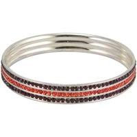 Virginia Tech Hokies 3 Row Bangle Bracelet