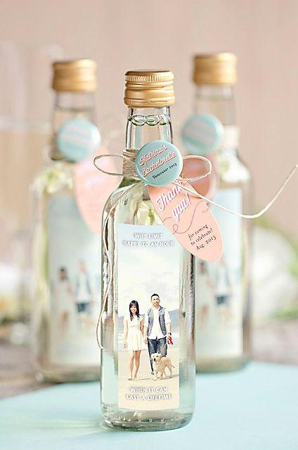 Cutest Favor Idea EVER Wine FavorsWine Wedding